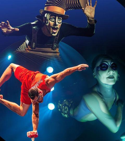 Be dazzled by Cirque de Soleil