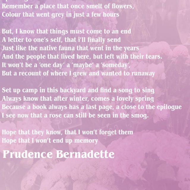 Prudence Bernadette